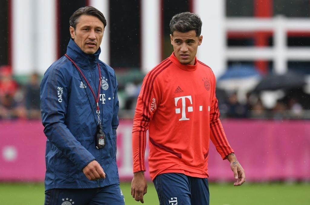Niko Kovac und Philippe Coutinho
