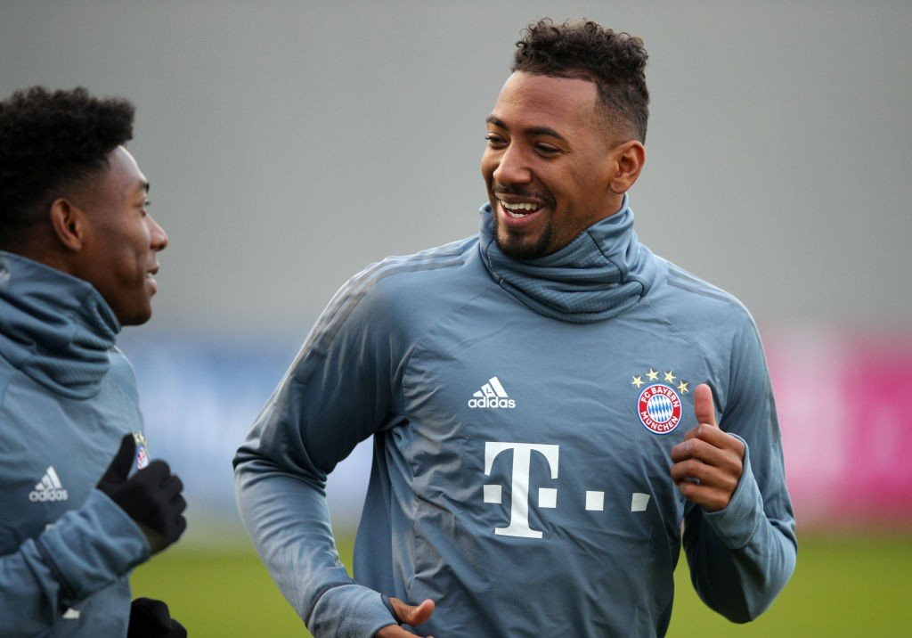 David Alaba und Jerome Boateng