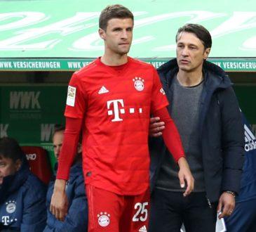 Thomas Müller und Niko Kovac