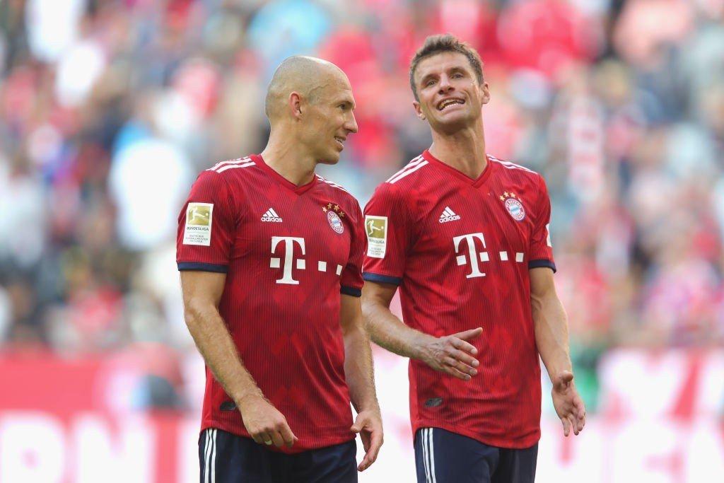 Thomas Müller und Arjen Robben