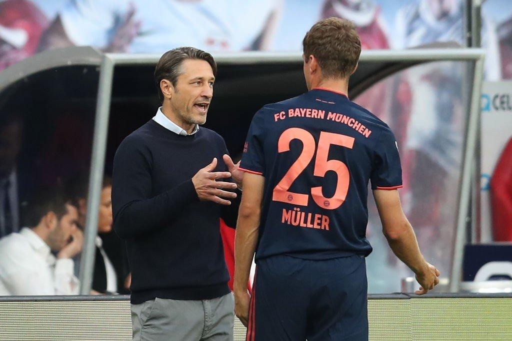 Niko Kovac und Thomas Müller