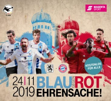 Magenta Sport überträgt das Münchner Stadtderby live und kostenlos