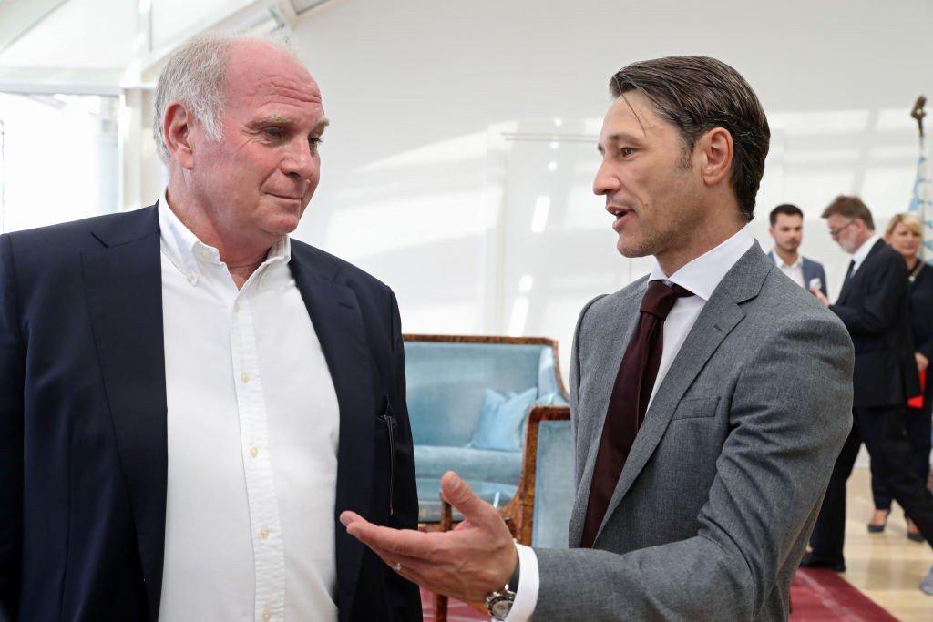 Niko Kovac und Uli Hoeneß