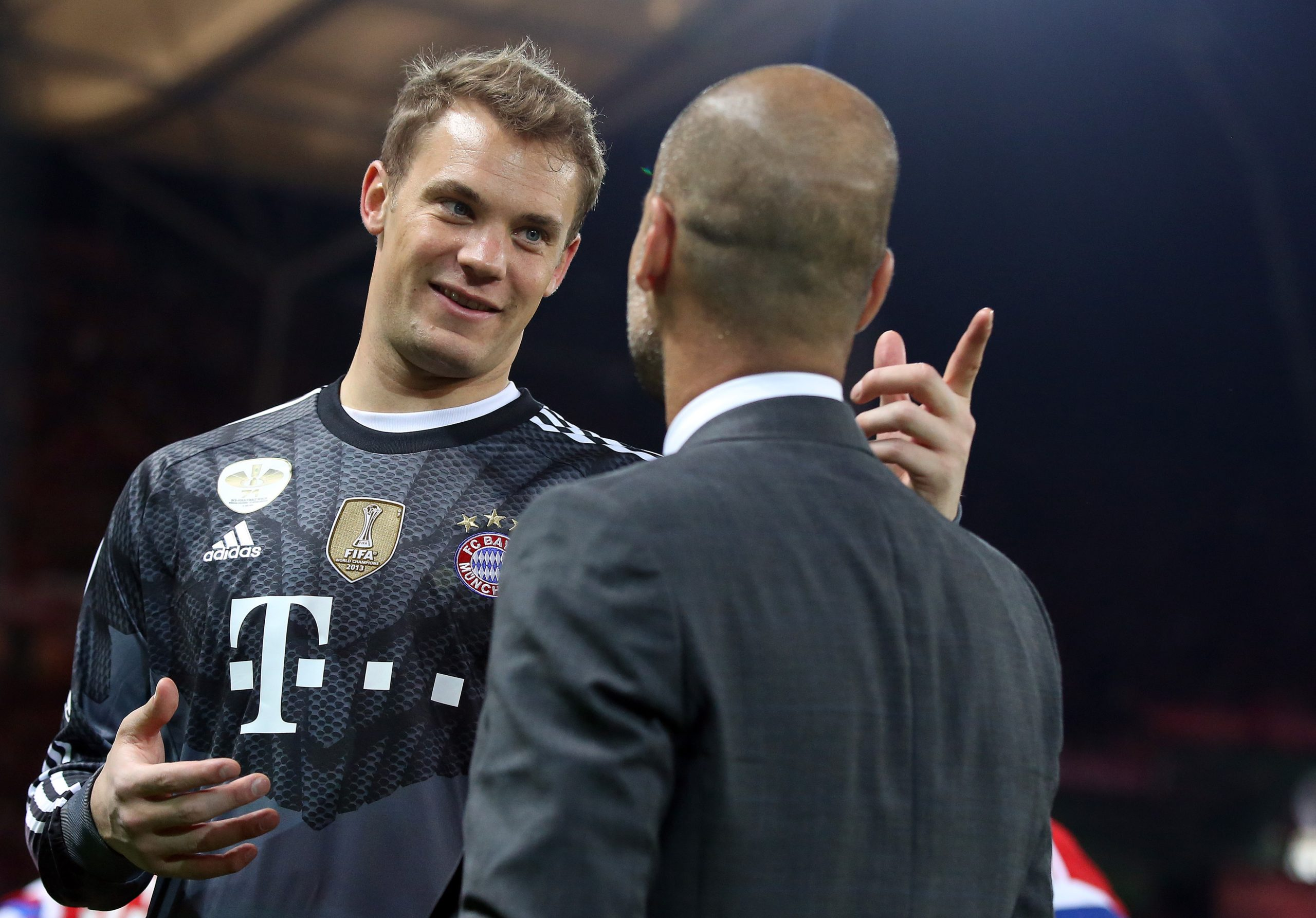 Manuel Neuer und Pep Guardiola
