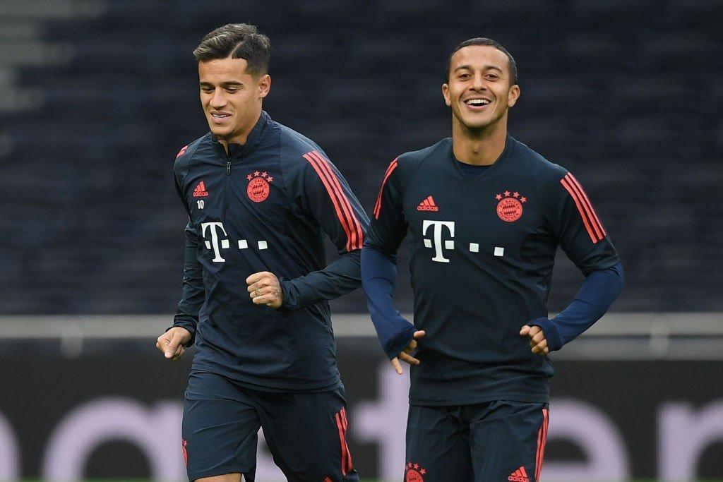Coutinho und Thiago