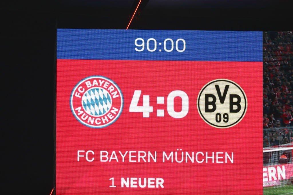 FC Bayern vs. Borussia Dortmund