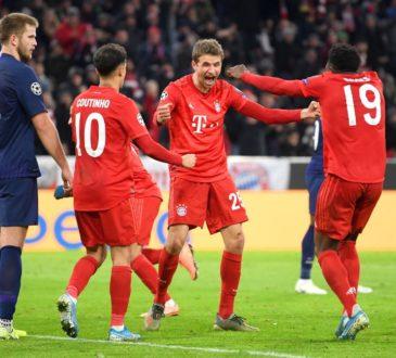 Thomas Müller, Coutinho und Davies