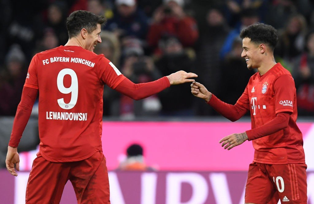 Lewandowski und Coutinho
