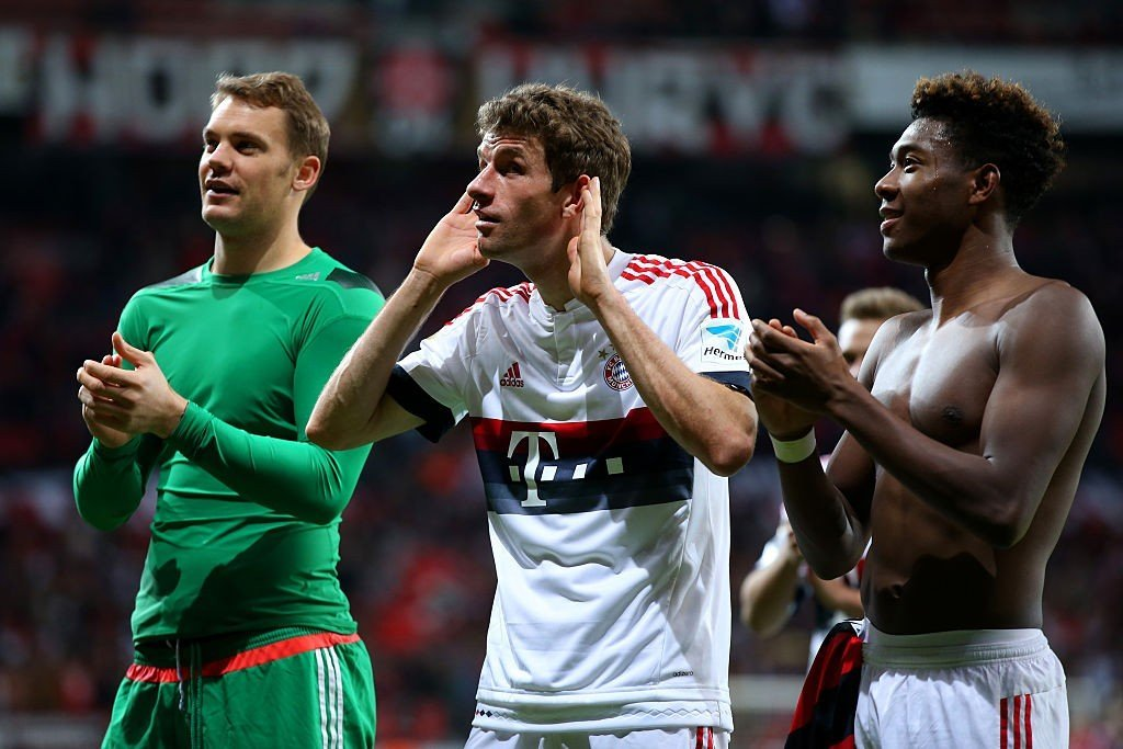 Neuer, Müller und Alaba