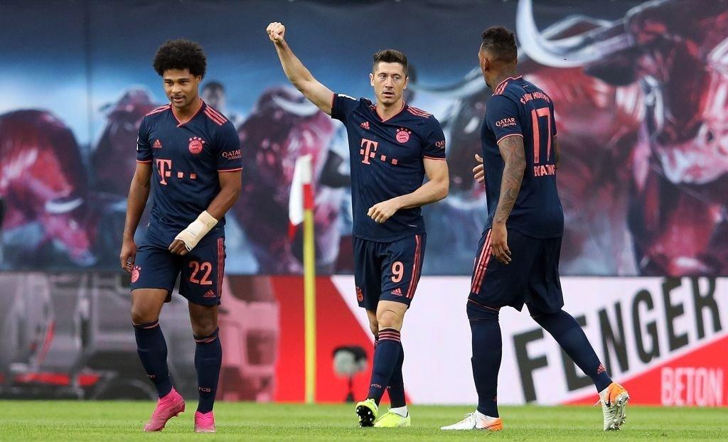 Gnabry, Lewandowski und Boateng