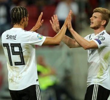 Leroy Sane und Timo Werner