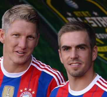 Bastian Scweinsteiger und Philipp Lahm
