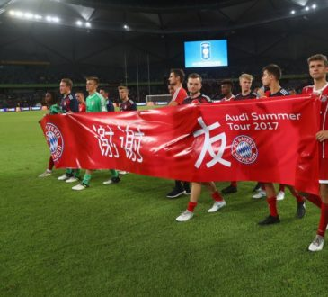 FC Bayern in China