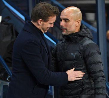 Julian Nagelsmann und Pep Guardiola