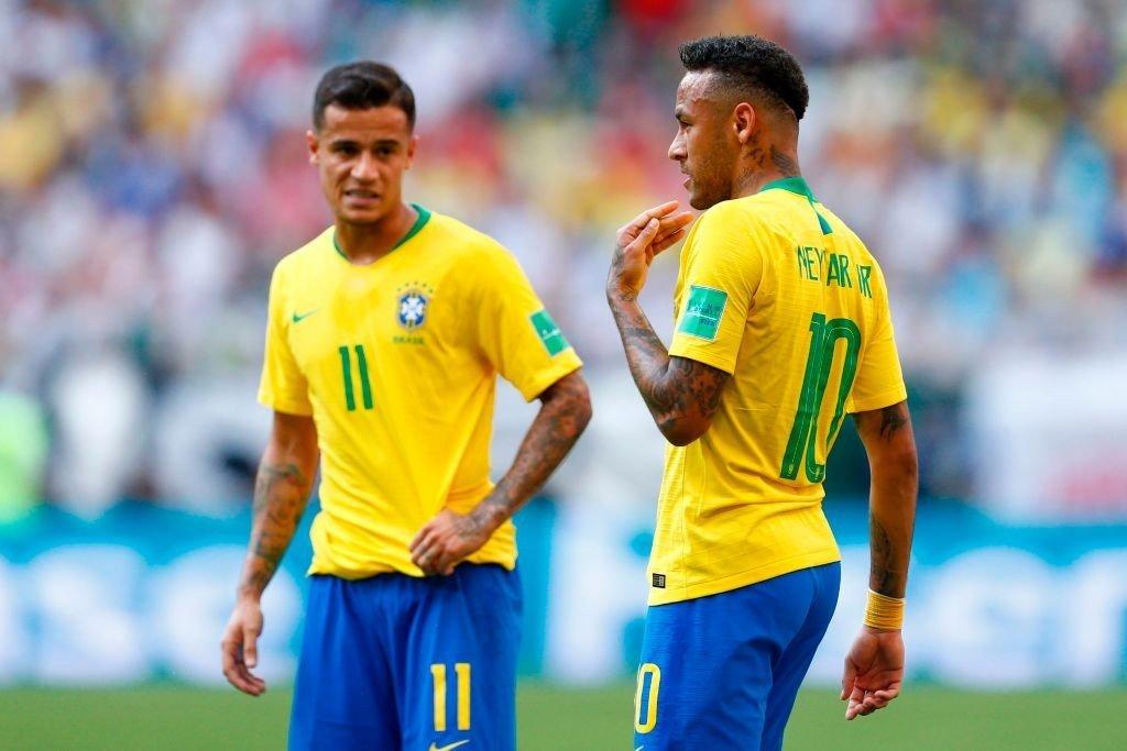 Coutinho und Neymar