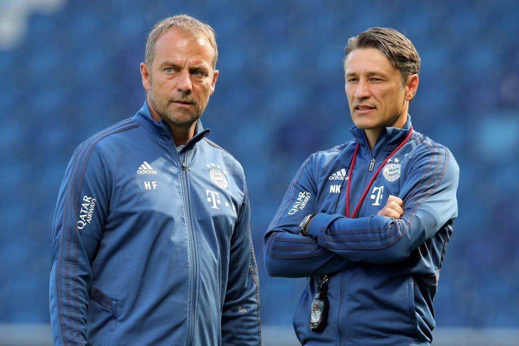 Hansi Flick und Niko Kovac