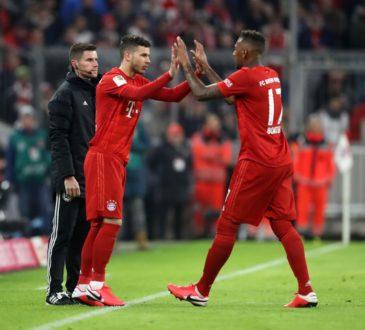 Lucas Hernandez und Jerome Boateng