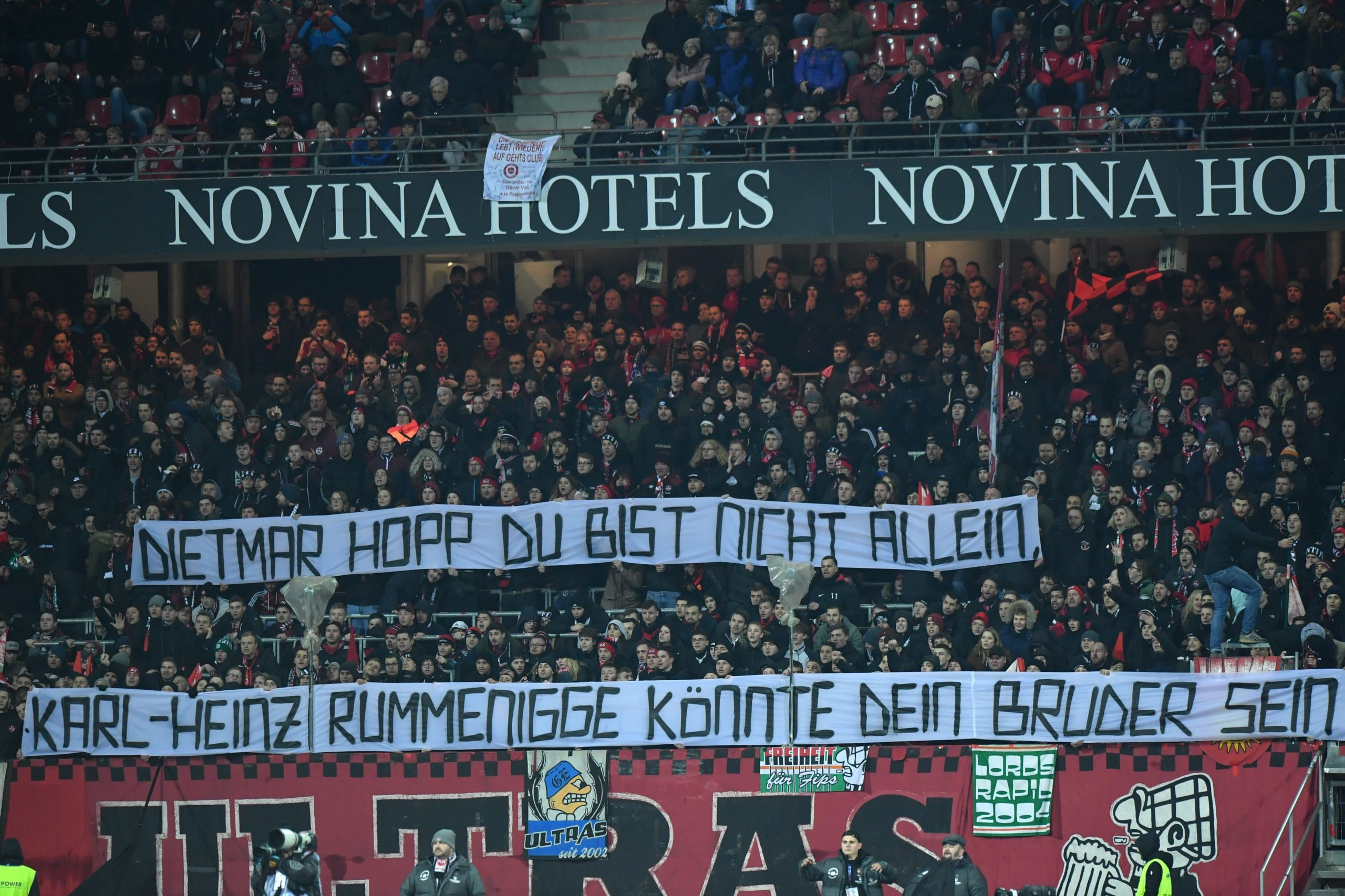 Ultras vs Rummenigge