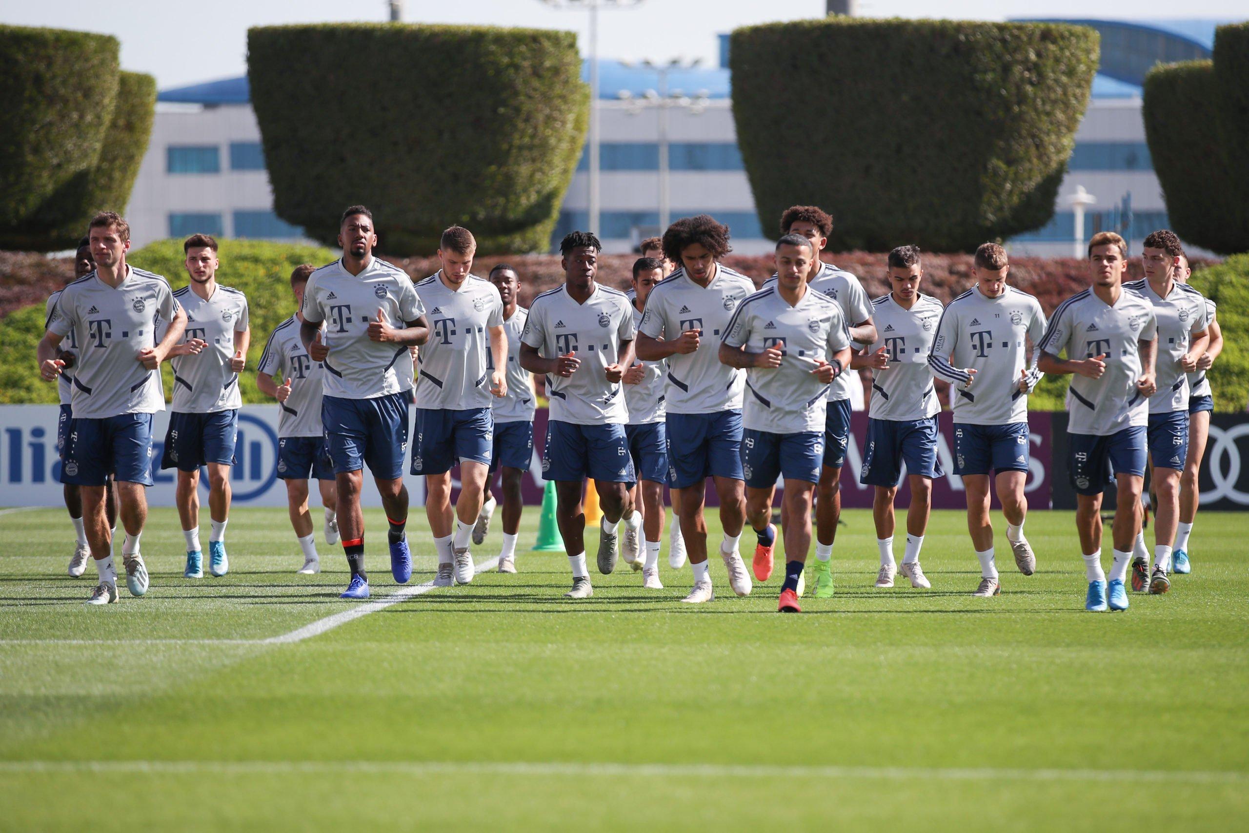 FC Bayern Training