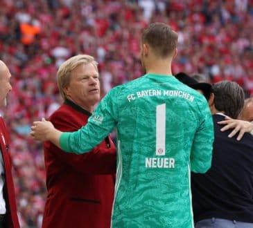 Manuel Neuer und Oliver Kahn