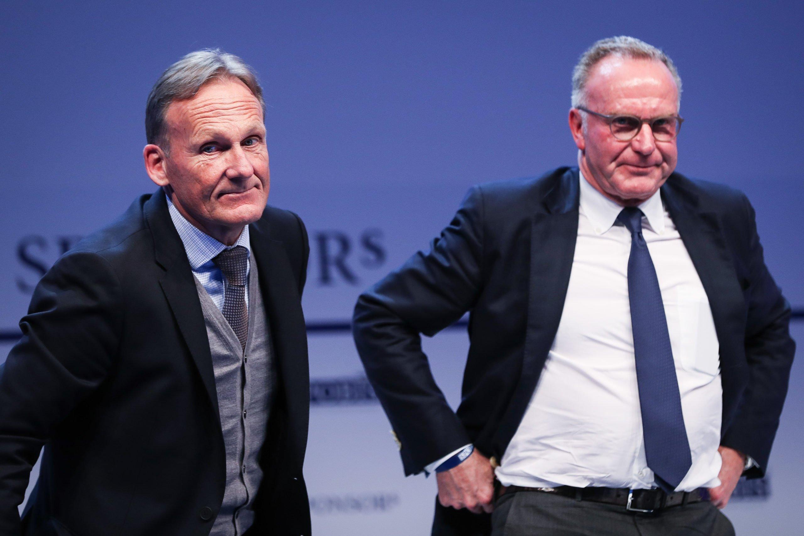 Karl-Heinz Rummenigge und Hans-Joachim Watzke