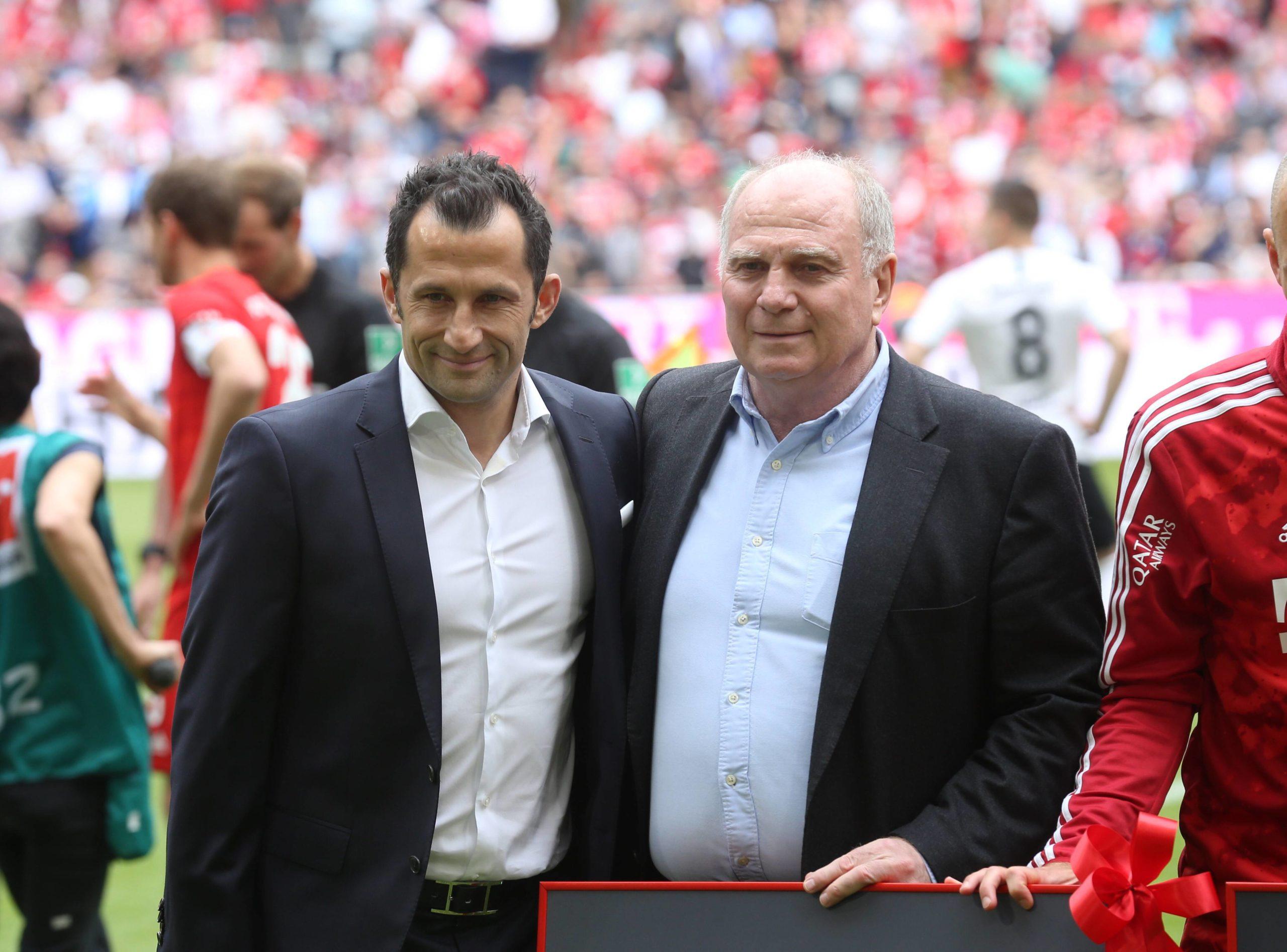 Uli Hoeneß und Hasan Salihamidzic