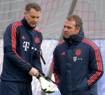 Manuel Neuer und Hansi Flick