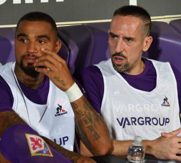 Kevin-Prince Boateng und Franck Ribery