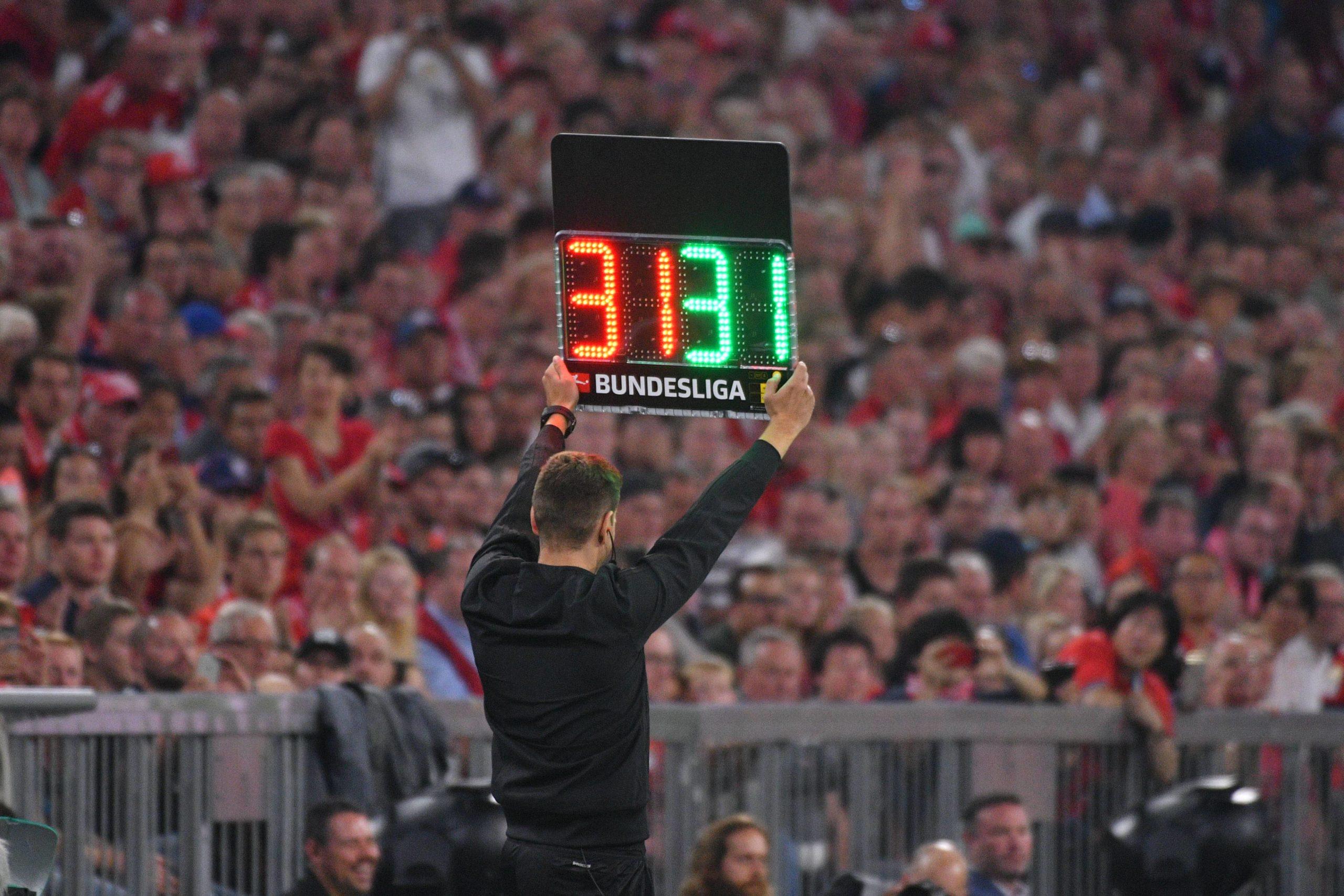 Auswechslungen Bundesliga