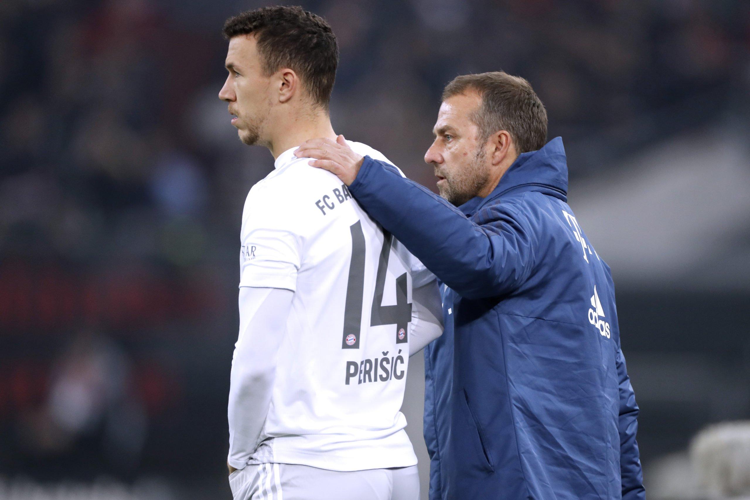 Ivan Perisic und Hansi Flick