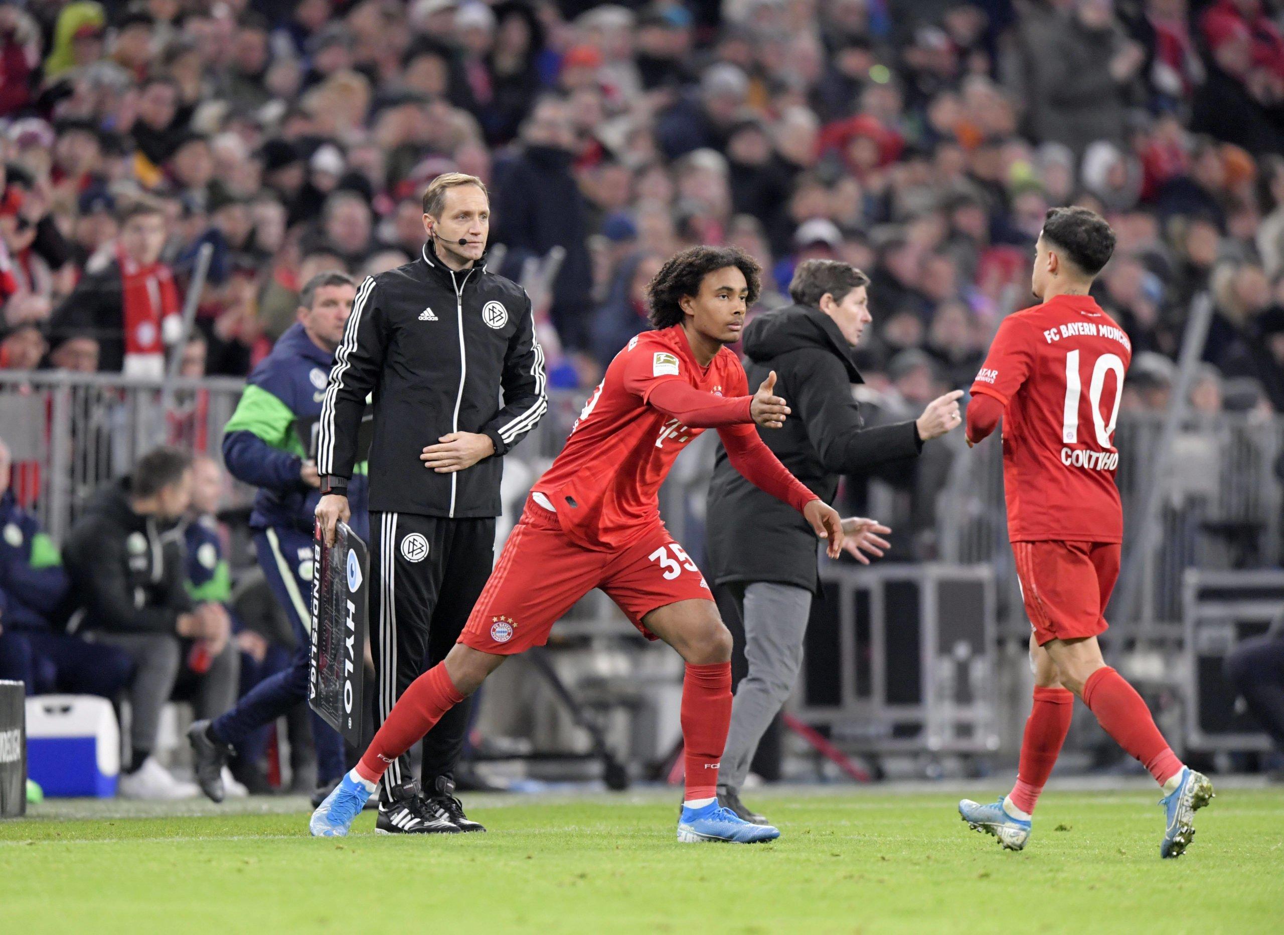 FC Bayern Auswechslung