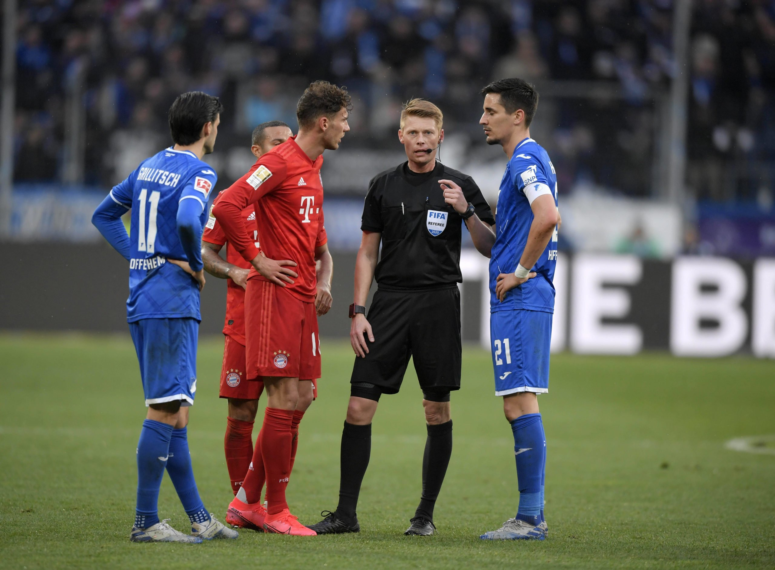 Bayern gegen Hoffenheim