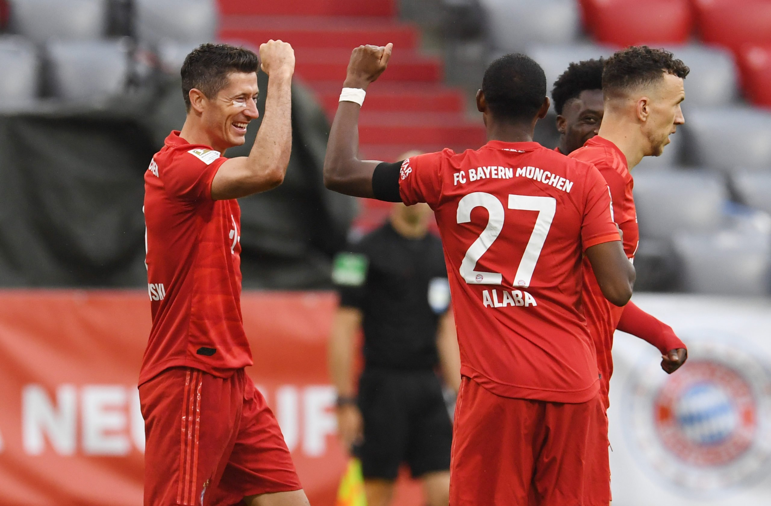 Robert Lewandowski und David Alaba