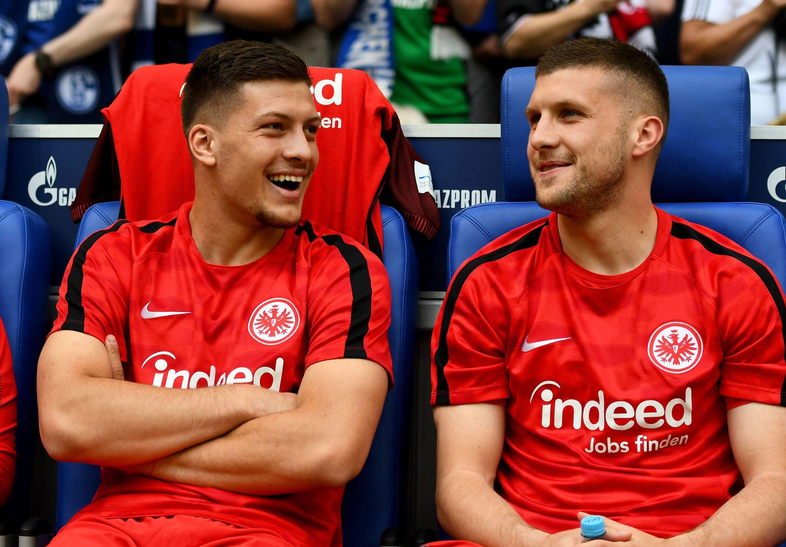 Lukas Jovic und Ante Rebic