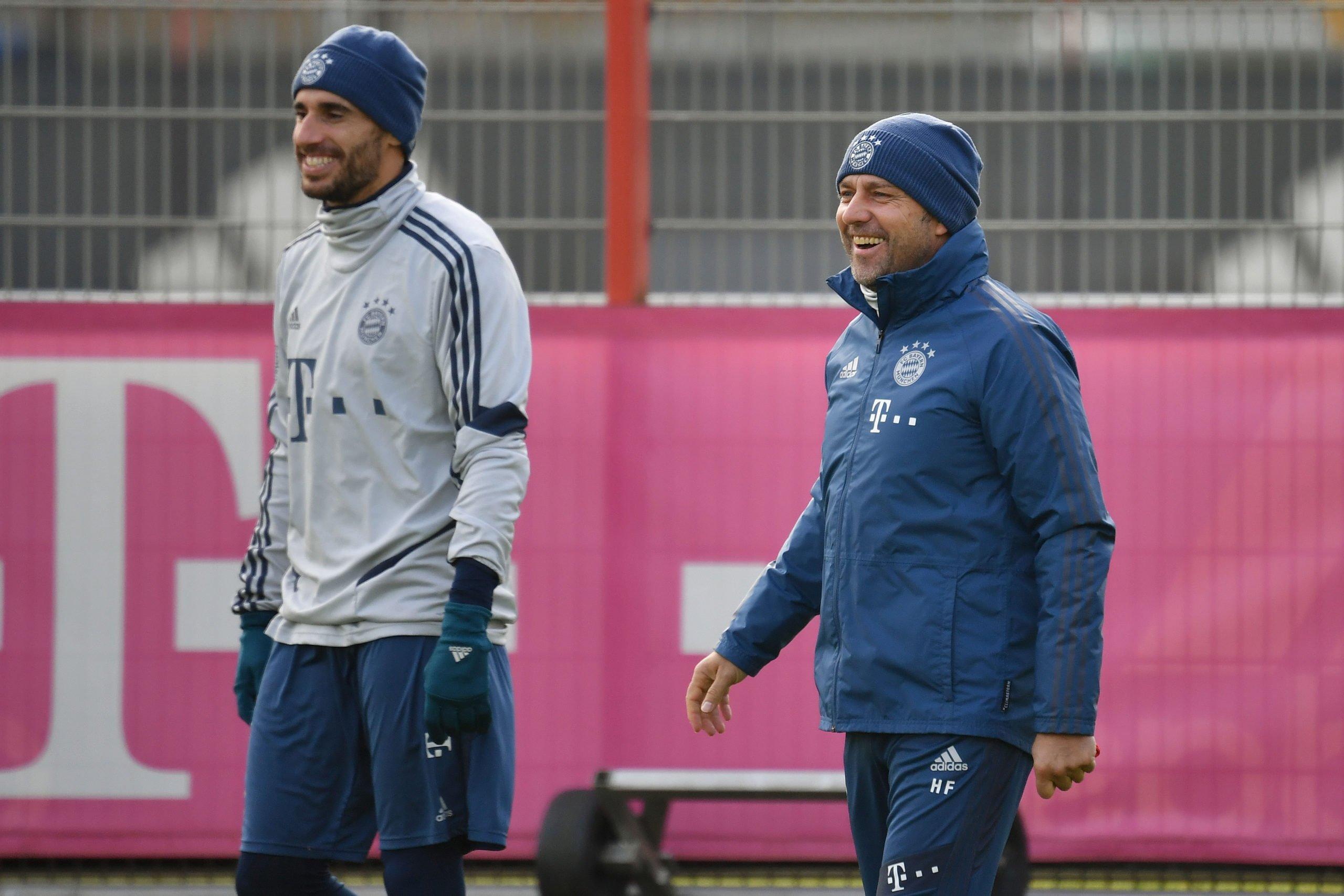 Hansi Flick und Javier Martinez