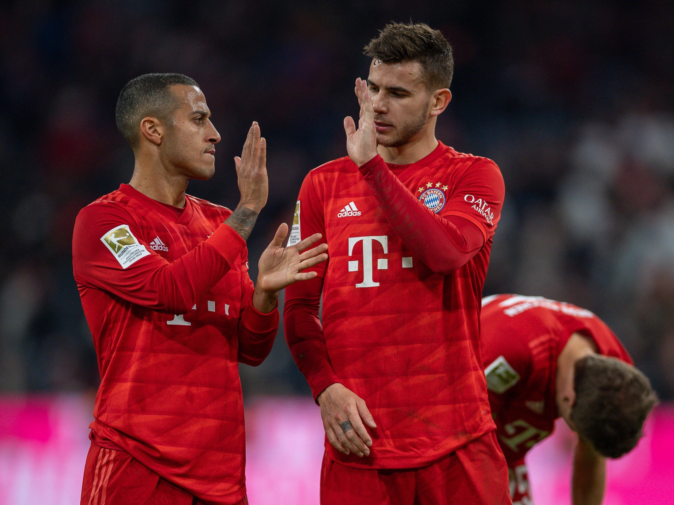 Thiago und Lucas Hernandez