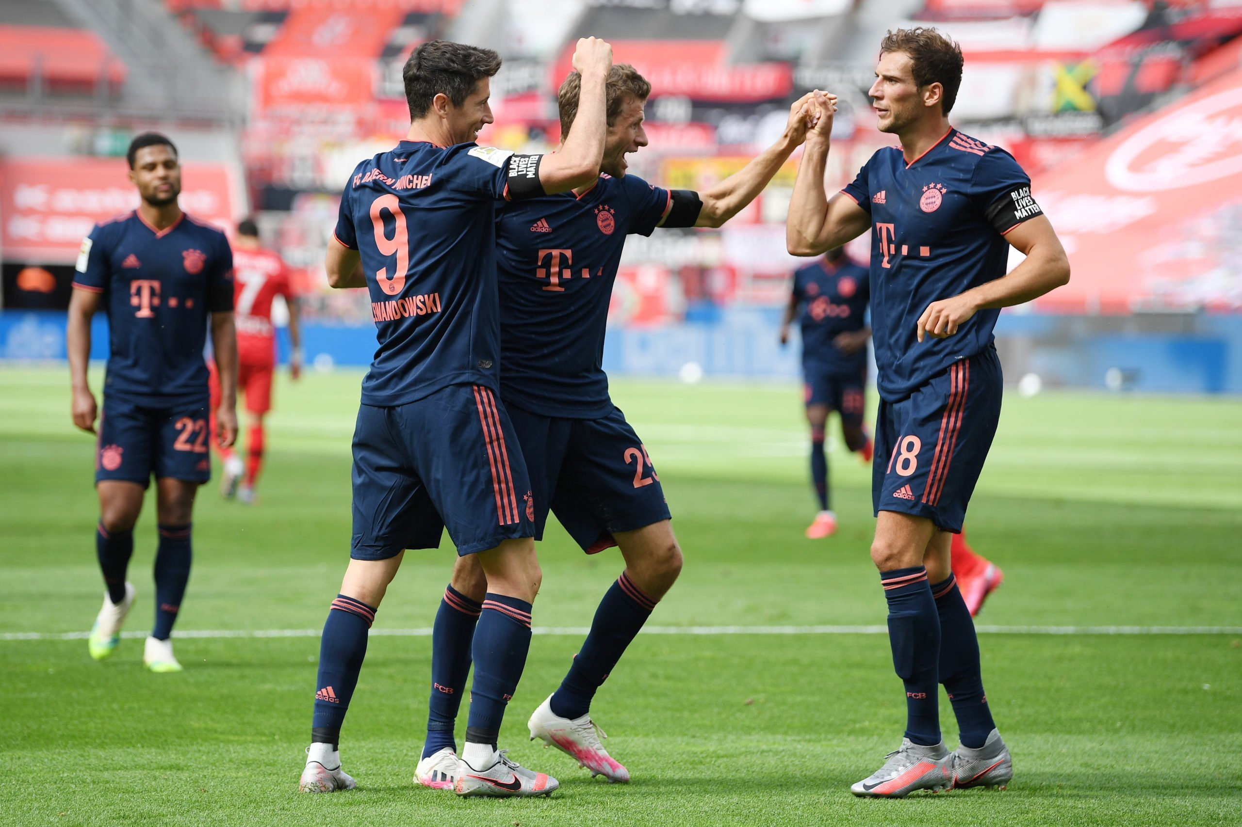 Lewandowski, Müller und Goretza