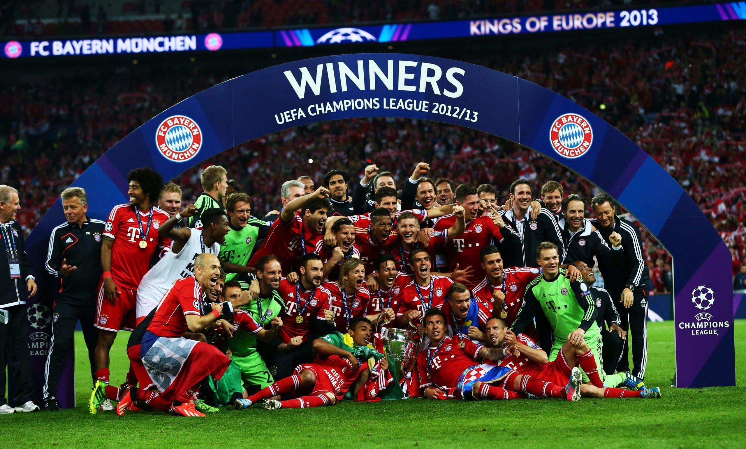 FC Bayern CL-Sieg 2013