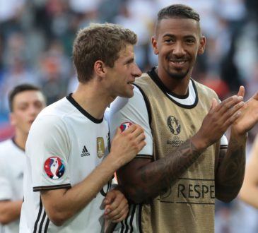 Thomas Müller und Jerome Boateng