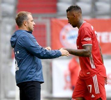Hansi Flick und Jerome Boateng