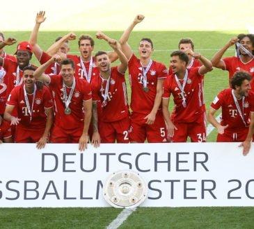 FC Bayern Deutscher Meister 2020