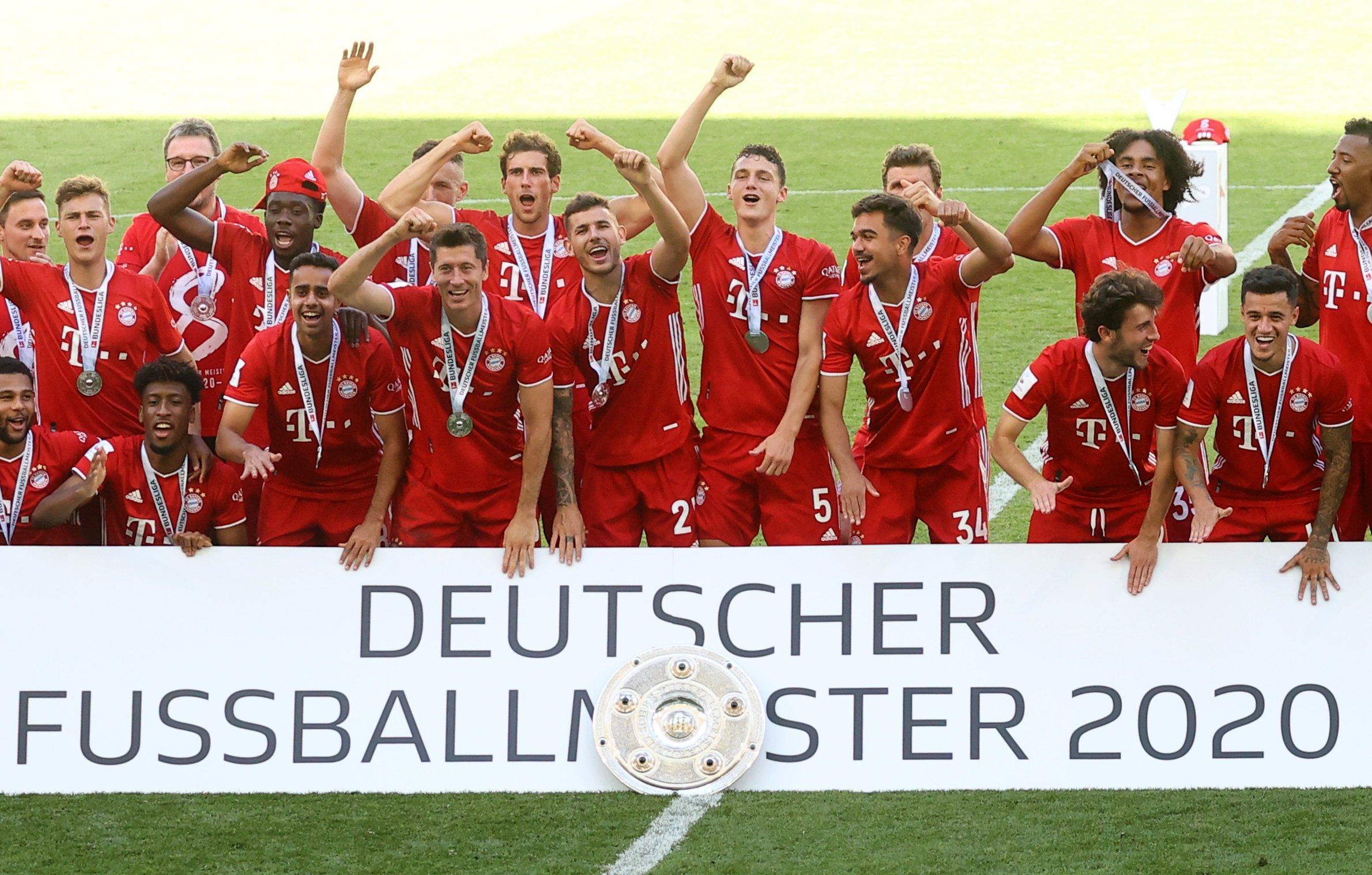 Fc Bayern Meister 2021