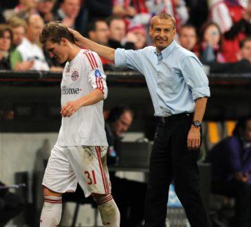 Schweinsteiger und Klinsmann