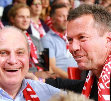 Uli Hoeneß und Lothar Matthäus
