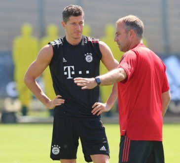 Hansi Flick und Robert Lewandowski