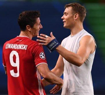 Robert Lewandowski und Manuel Neuer