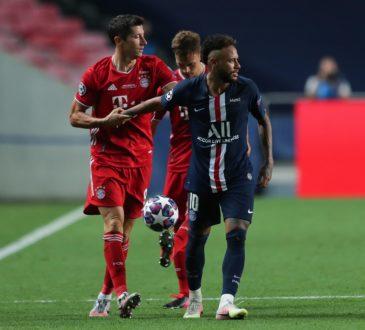 Neymar und Robert Lewandowski