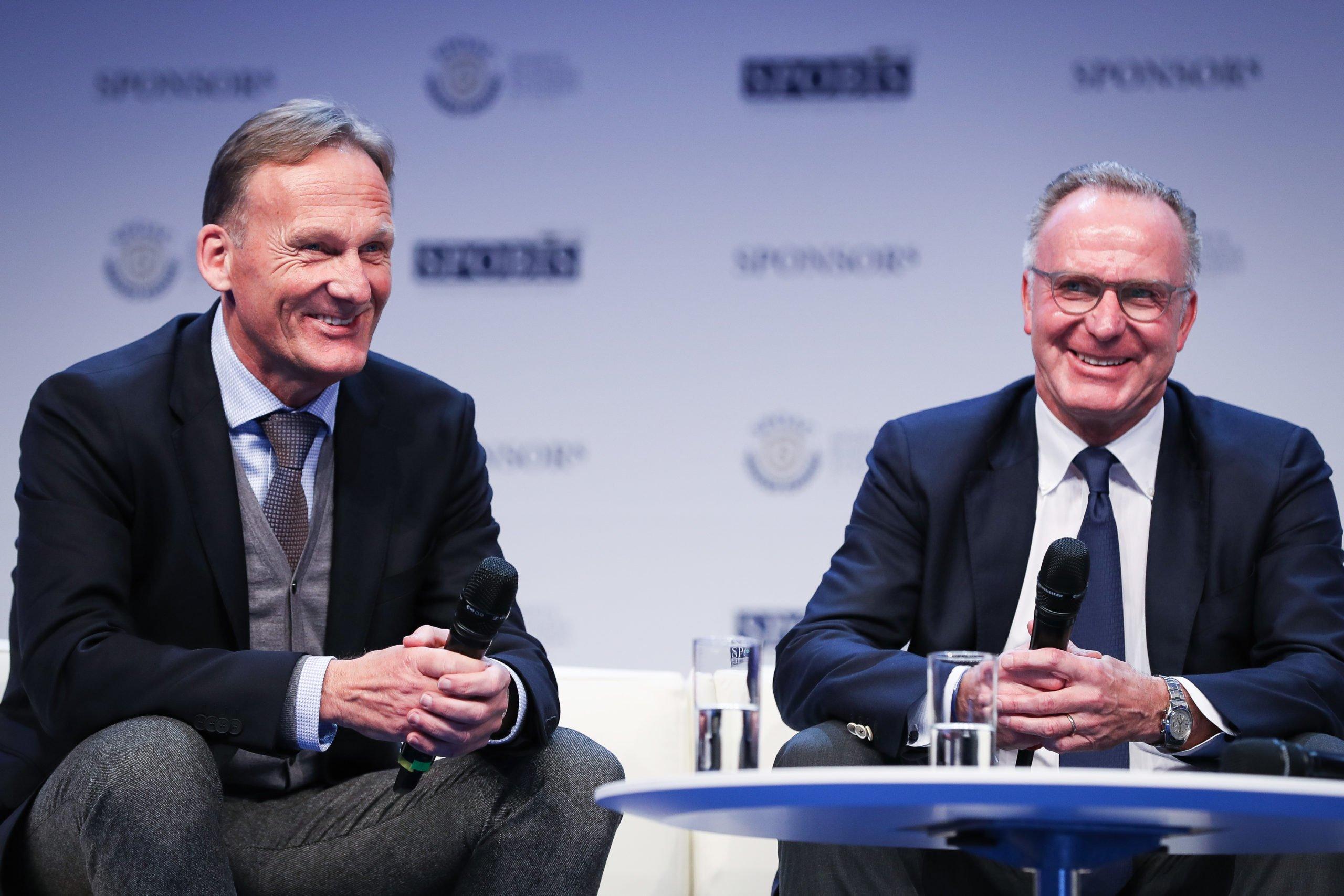 Hans-Joachim Watzke und Karl-Heinz Rummenigge