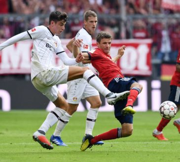 Thomas Müller und Kai Havertz