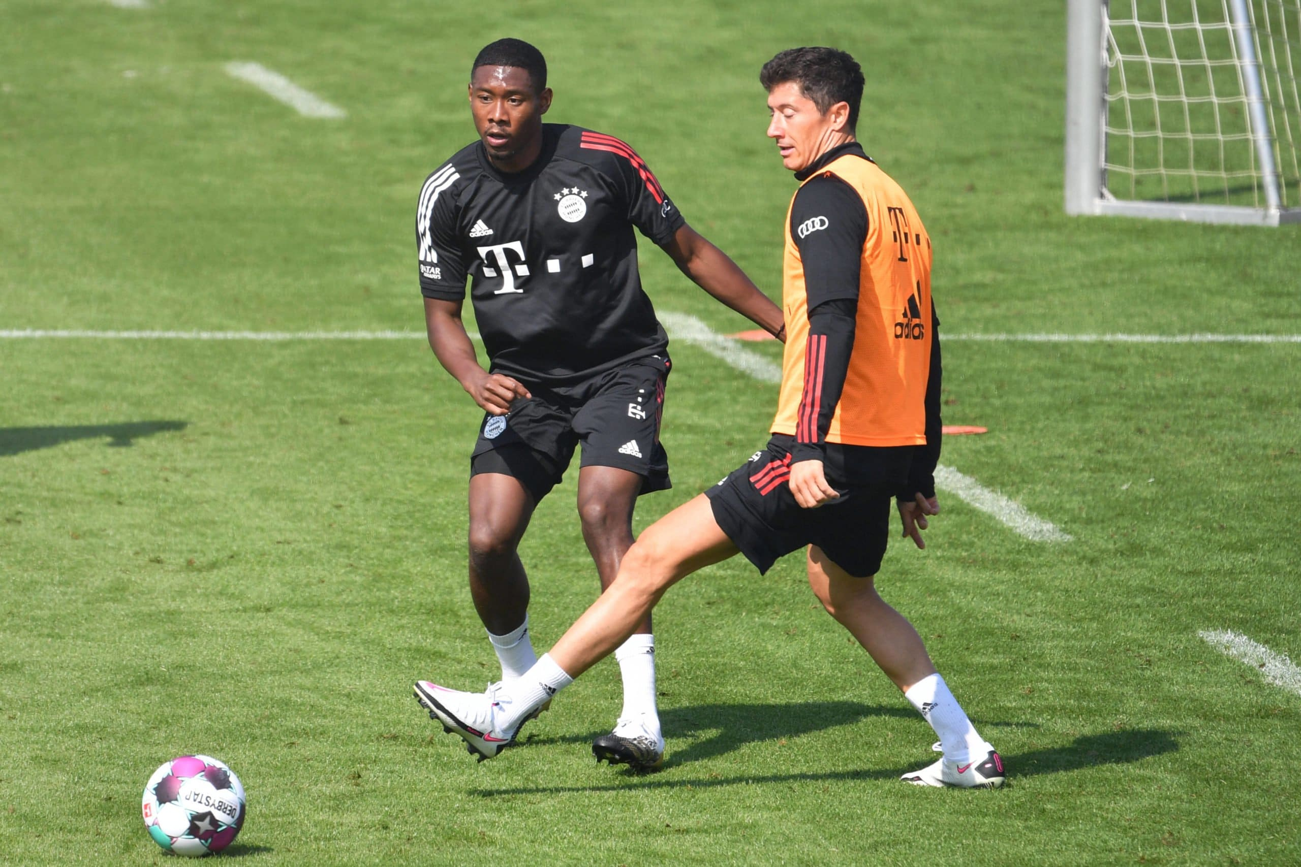 David Alaba und Robert Lewandowski